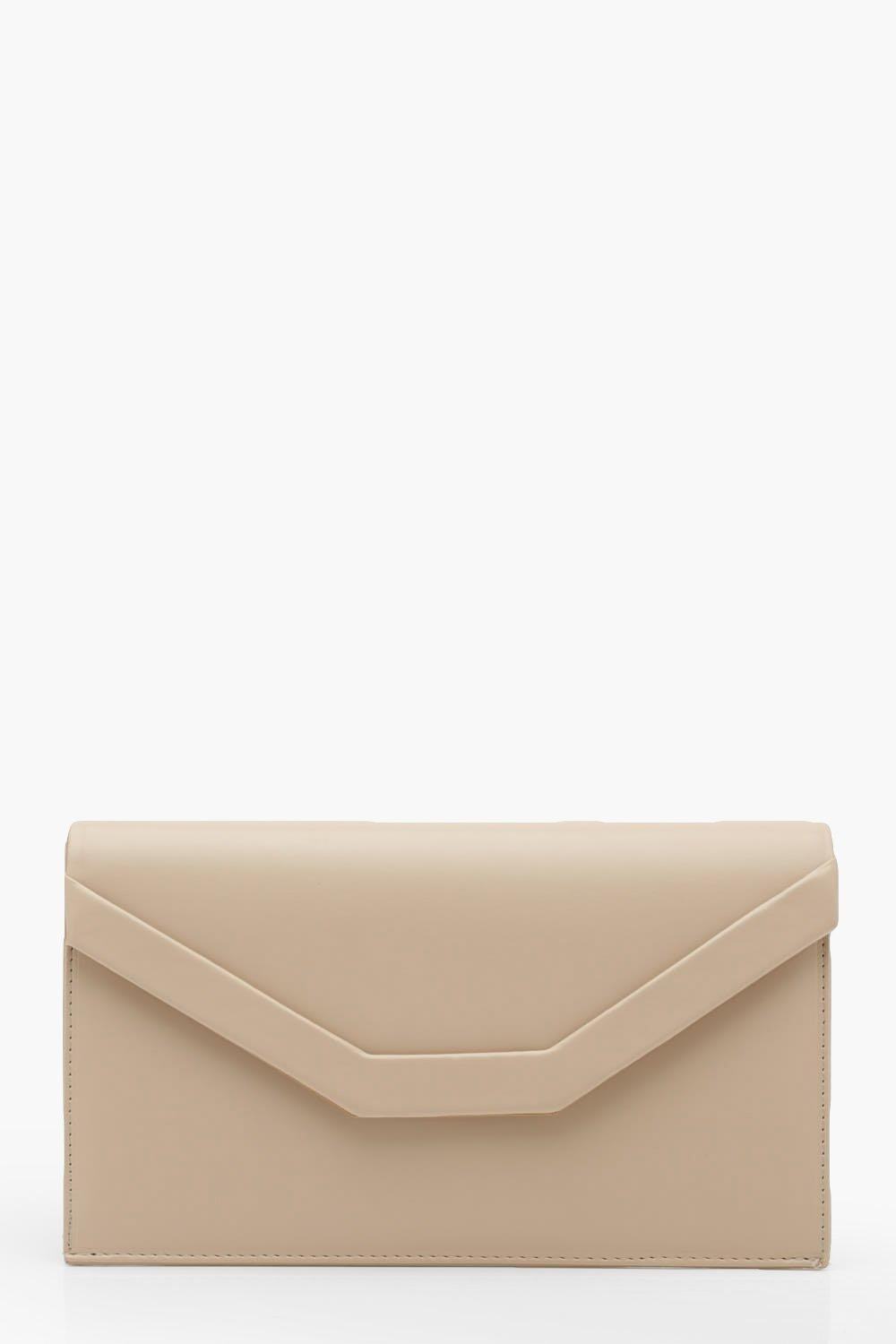 Embossed Envelope Clutch & Chain