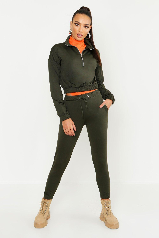 official best supplier new products Womens Trainingsanzug mit O-Ring - khaki - 40, Khaki ...