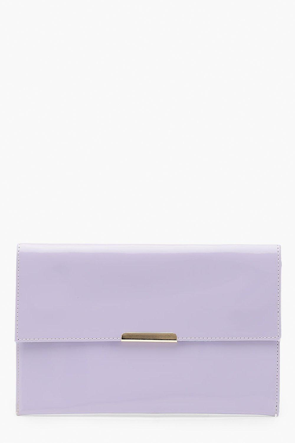 Patent Envelope Clutch with Bar