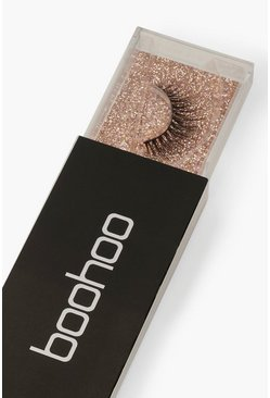 Womens Black Boohoo Lashes - TW19
