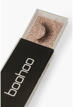 Womens Black Boohoo Lashes - TW17