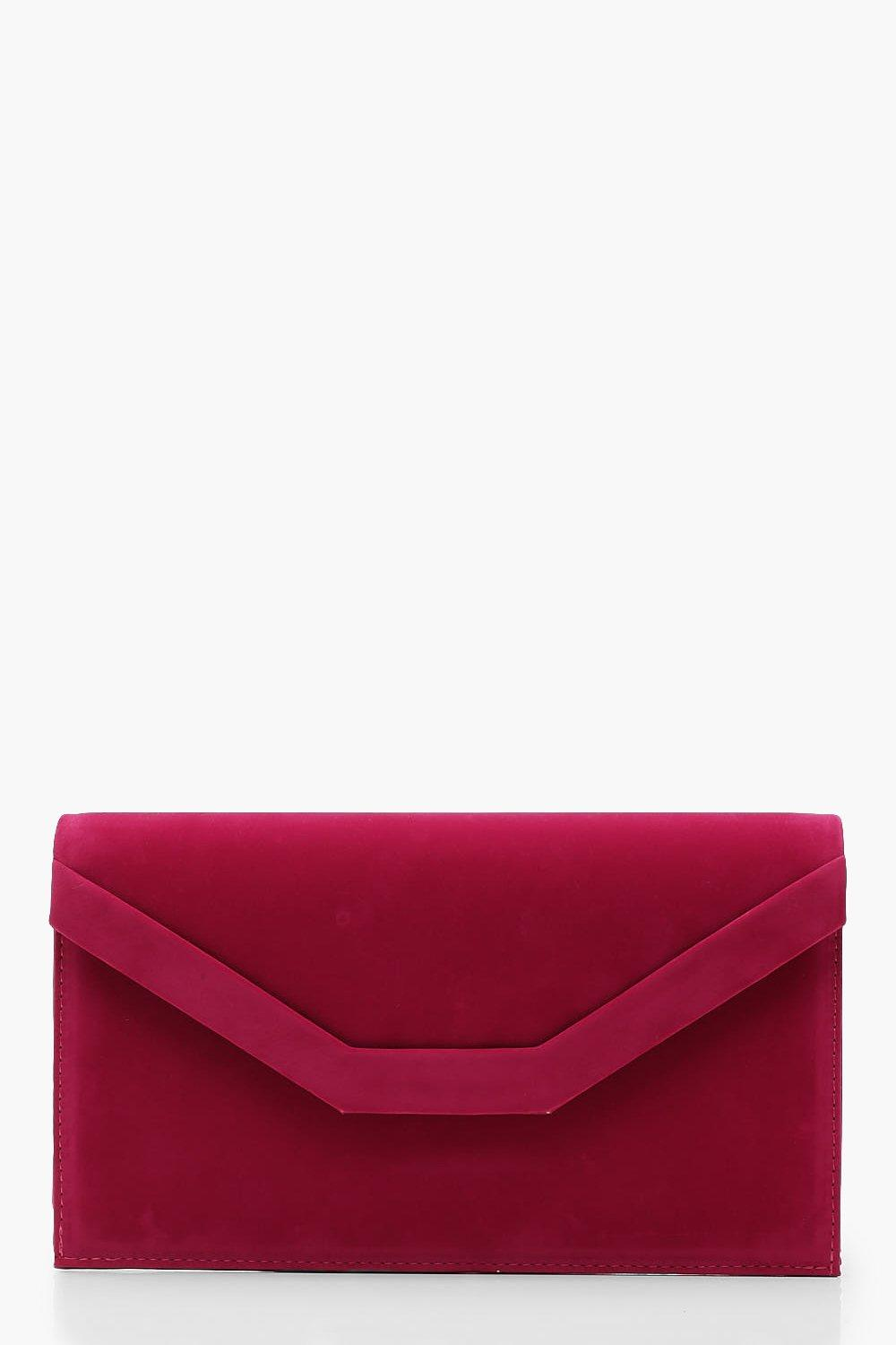 Embossed Envelope Clutch and Chain