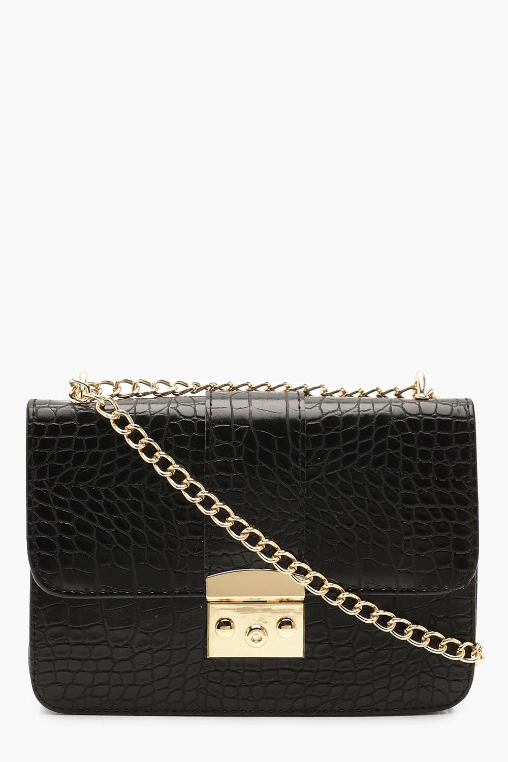 Croc & Lock Cross Body