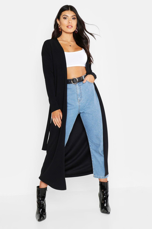Belted Maxi Kimono