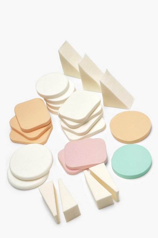 Brushworks 24 Assorted Sponge Pack
