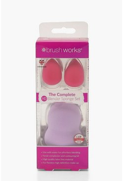 Womens Multi Brushworks HD Blender Sponge Set