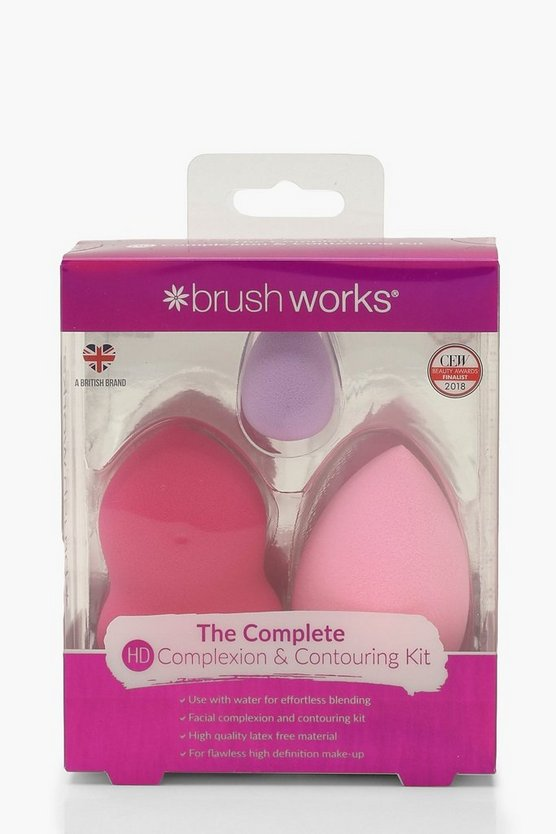 Womens Multi Brushworks HD Complexion & Contouring Kit