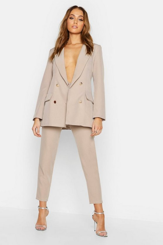 Womens Mushroom Tailored Trouser