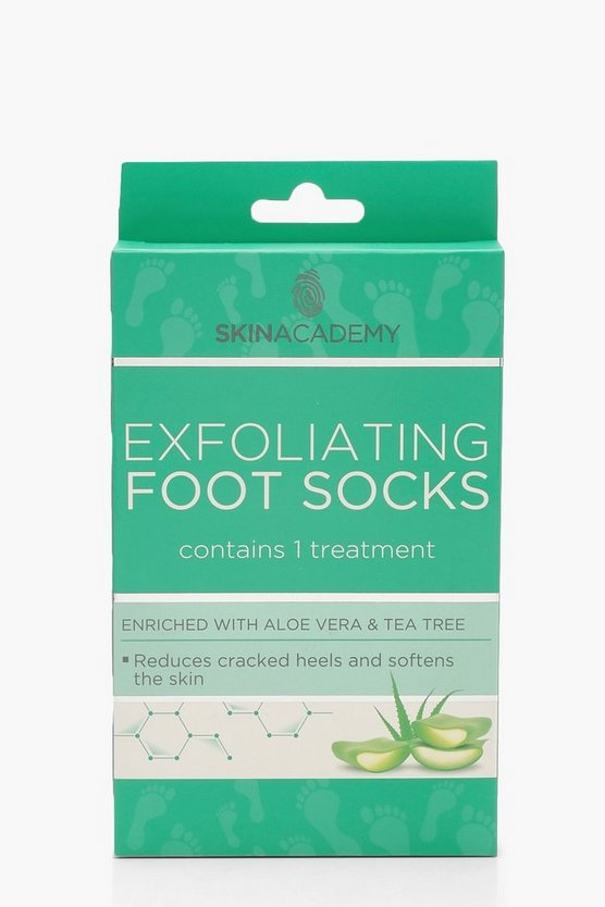 Exfoliating Aloe Vera & Tea Tree Foot Socks