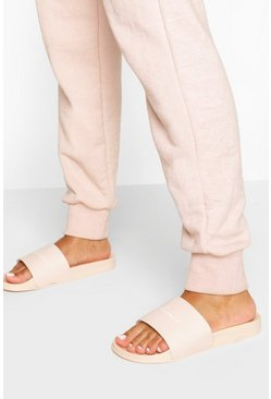 Nude Woman Slogan Sliders