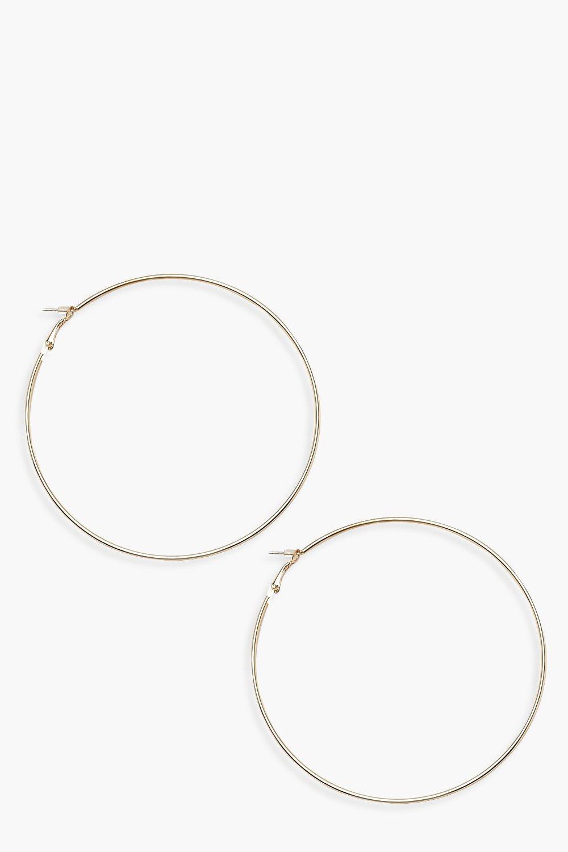Chunky 9cm Hoop Earrings
