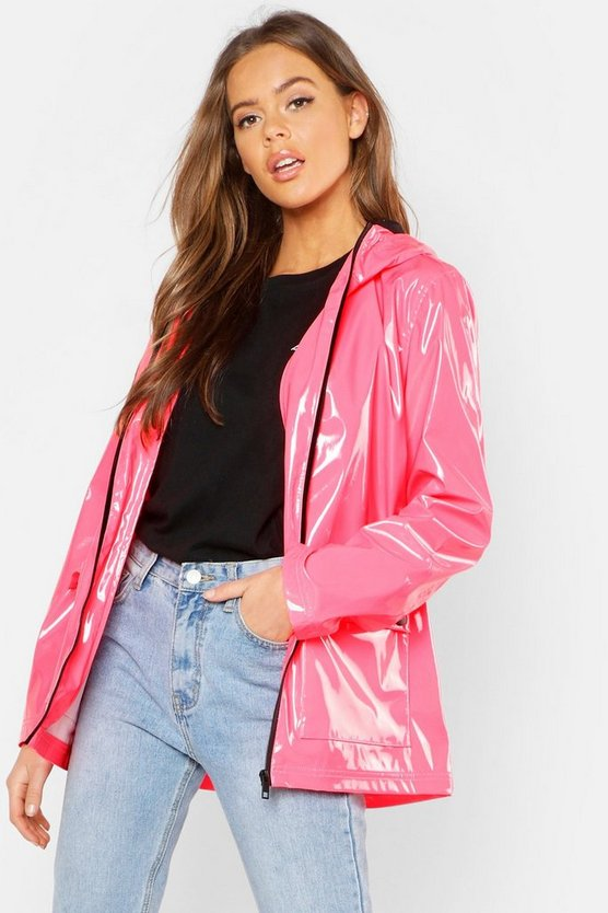 Womens Neon-pink Patent Festival Mac