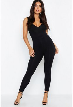 High-Waist Leggings, Schwarz, Damen