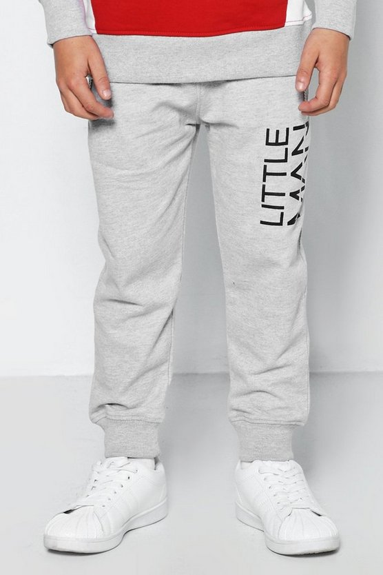 Boys Little MAN Dash Joggers