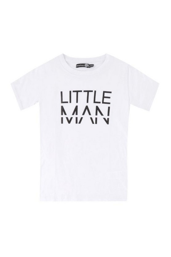 Boys Little MAN Dash T-Shirt