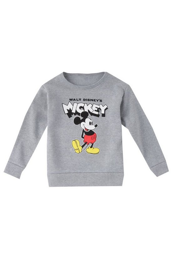 Boys Disney Original Mickey Crew Neck Sweater