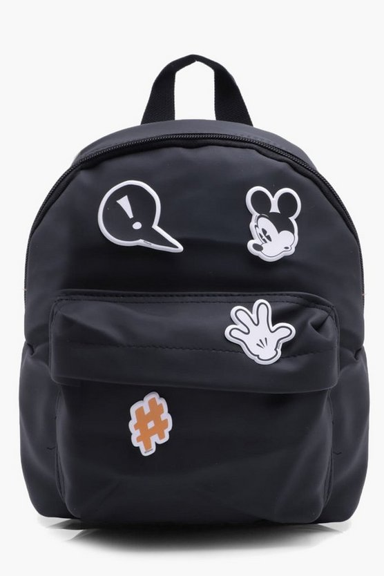 Boys Customisable Micky Mouse Backpack