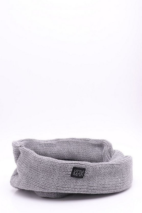 Boys Ribbed Snood