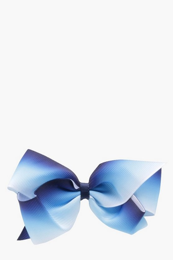 Girls Two Tone Hair Bow