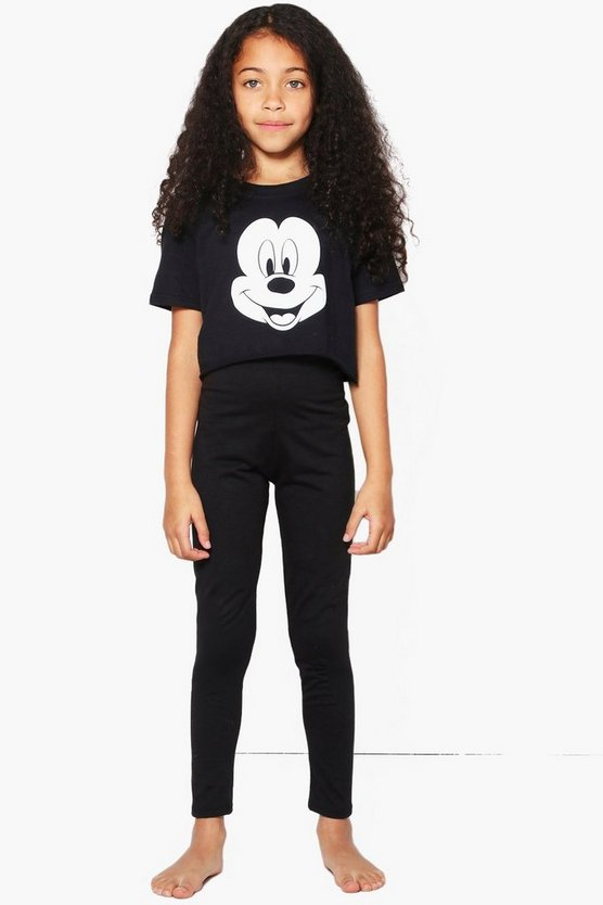 Girls Disney Mickey Tee Nightwear Set