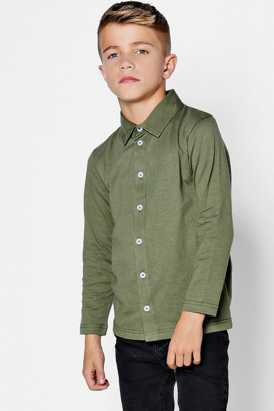 Boys Long Sleeve Jersey Shirt