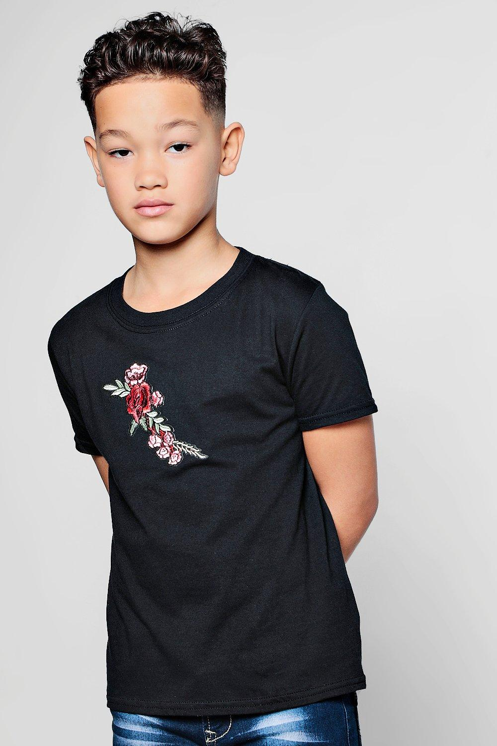 060f9a23 ... Floral Embroidered T-Shirt. Hover to zoom