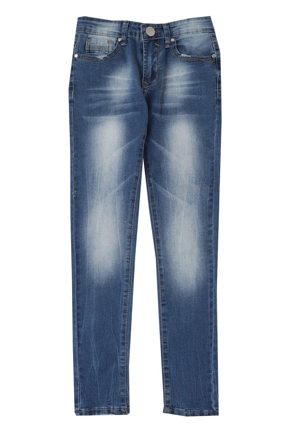 39dff8b0672d7 Boys Skinny Tube Jeans. Hover to zoom