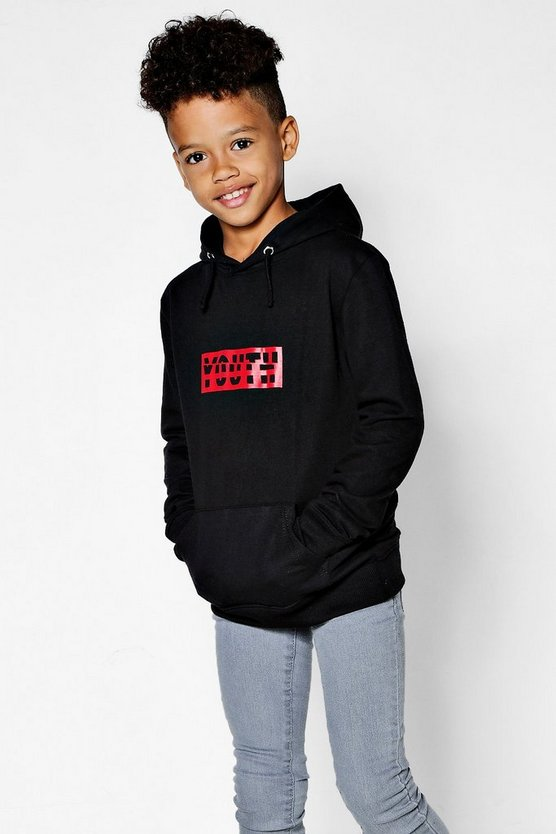 Boys Youth Graphic Hoody