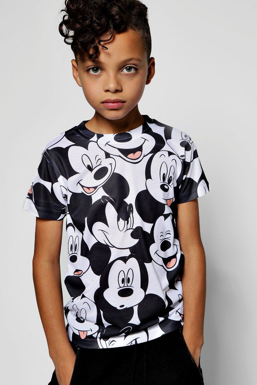 Boohoo-Boys-Disney-Big-Mickey-Sublimation-Tee-para-Hombre