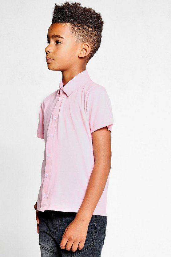 Boys Short Sleeve Jersey Shirt