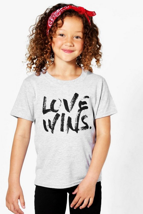 Charity Girls Love Wins T-Shirt