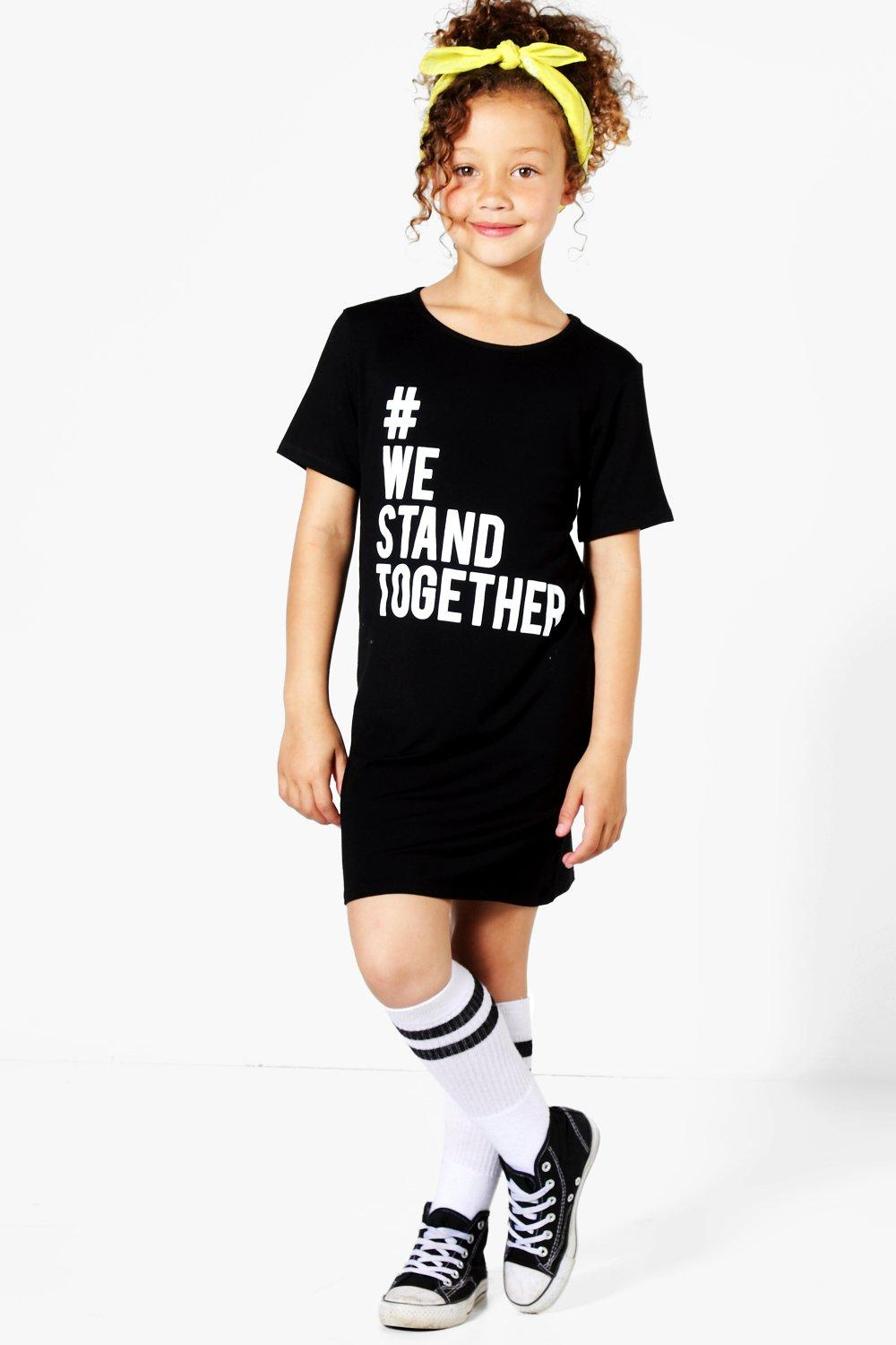906c3adcb4 Charity Girls We Stand Together T-Shirt Dress