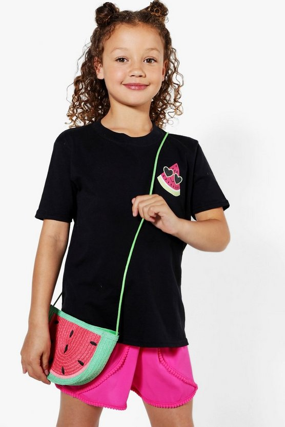Girls One In A Melon Front & Back Tee