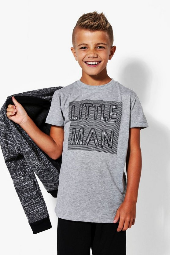 Boys Little Man Tee