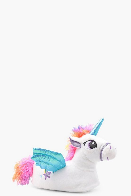 Girls Unicorn 3D Slippers