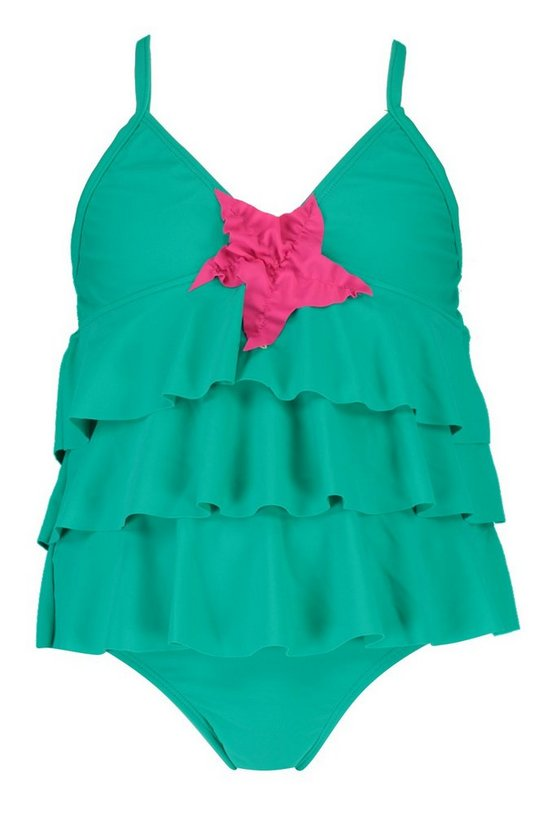 Girls Mermaid Tankini Set