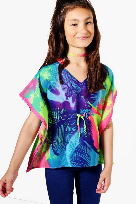 Girls Multicolour Kaftan