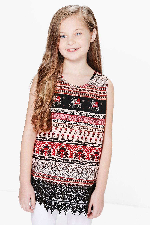 Navy Elephant Fair Isle Crochet-Accent A-line Dress   Zulily   1500x1000