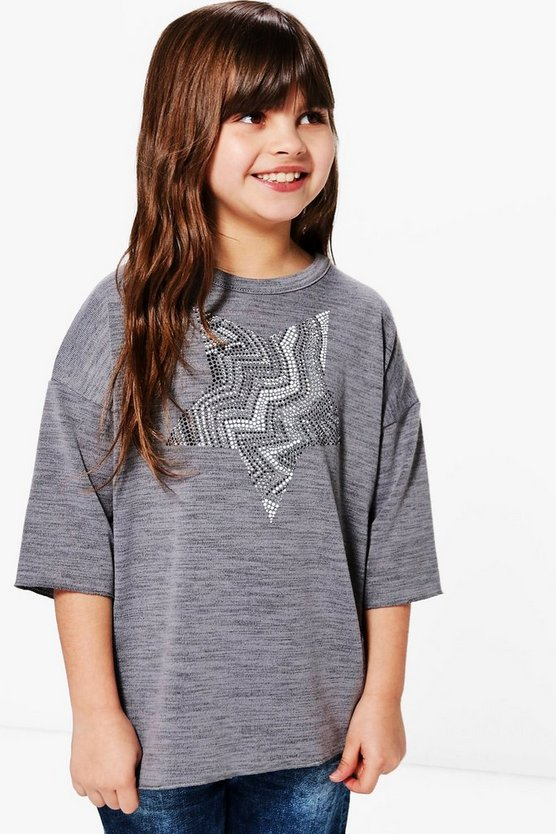 Girls Star Placement Jumper