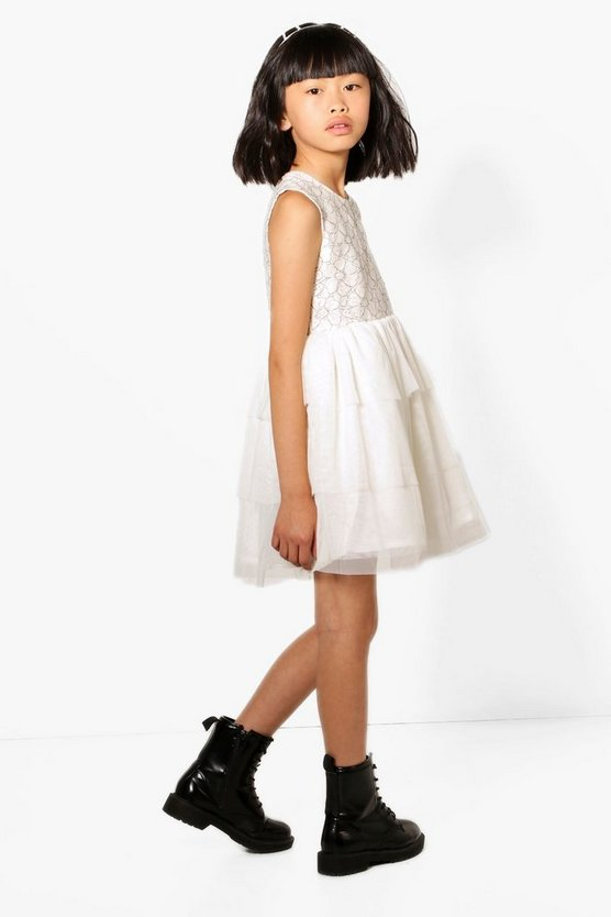 Girls Boutique Lace Tutu Dress