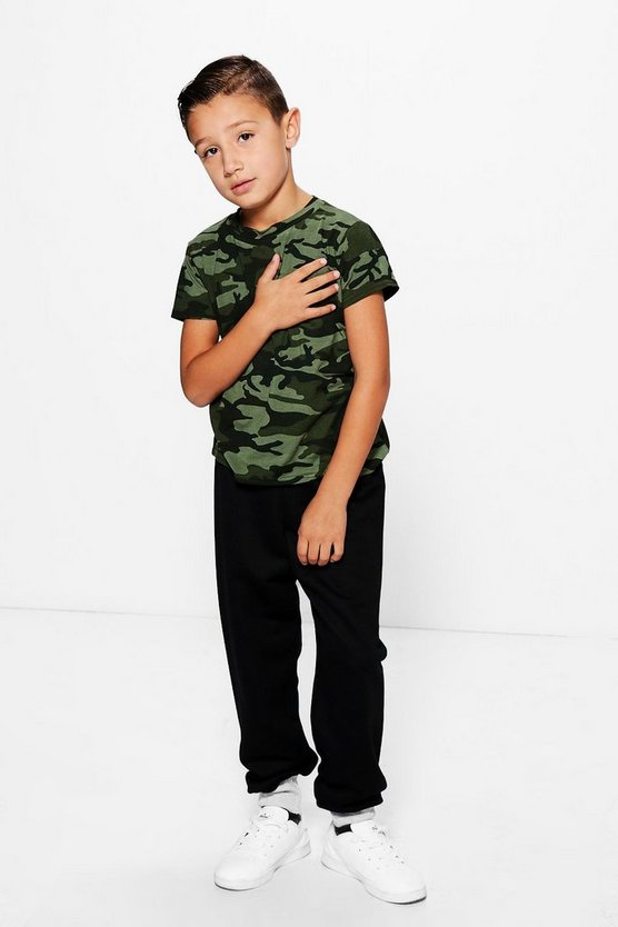 Boys Contrast Joggers