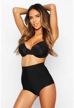 Black High Waist Control Shapewear Brief