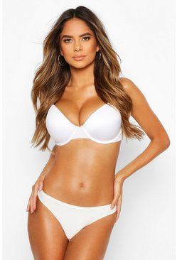 White DD+ Smoothing T-shirt Bra