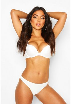 Dam White Smoothing Plunge Bra