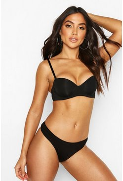 Dam Black Smoothing Strapless Bra