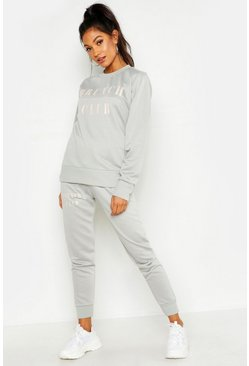Womens Sage Mix & Match Brunch Club Lounge Jogger