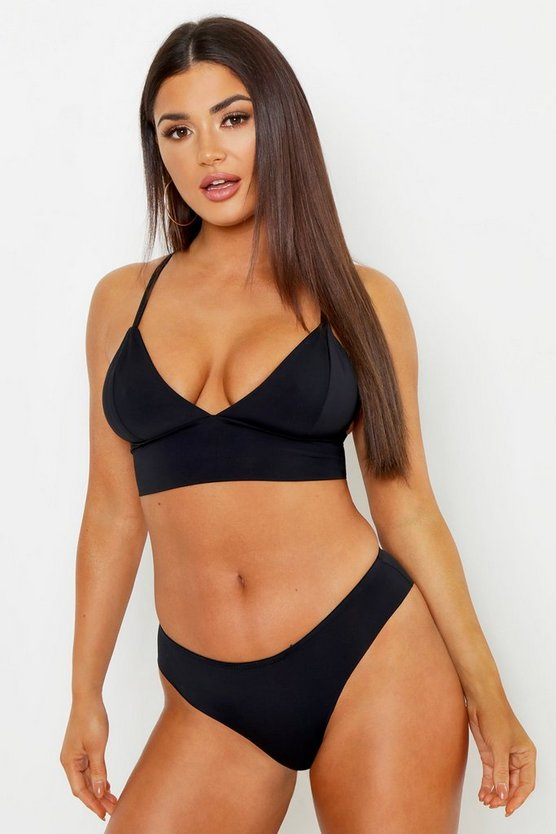 Black Seamfree Bra & Knicker Set