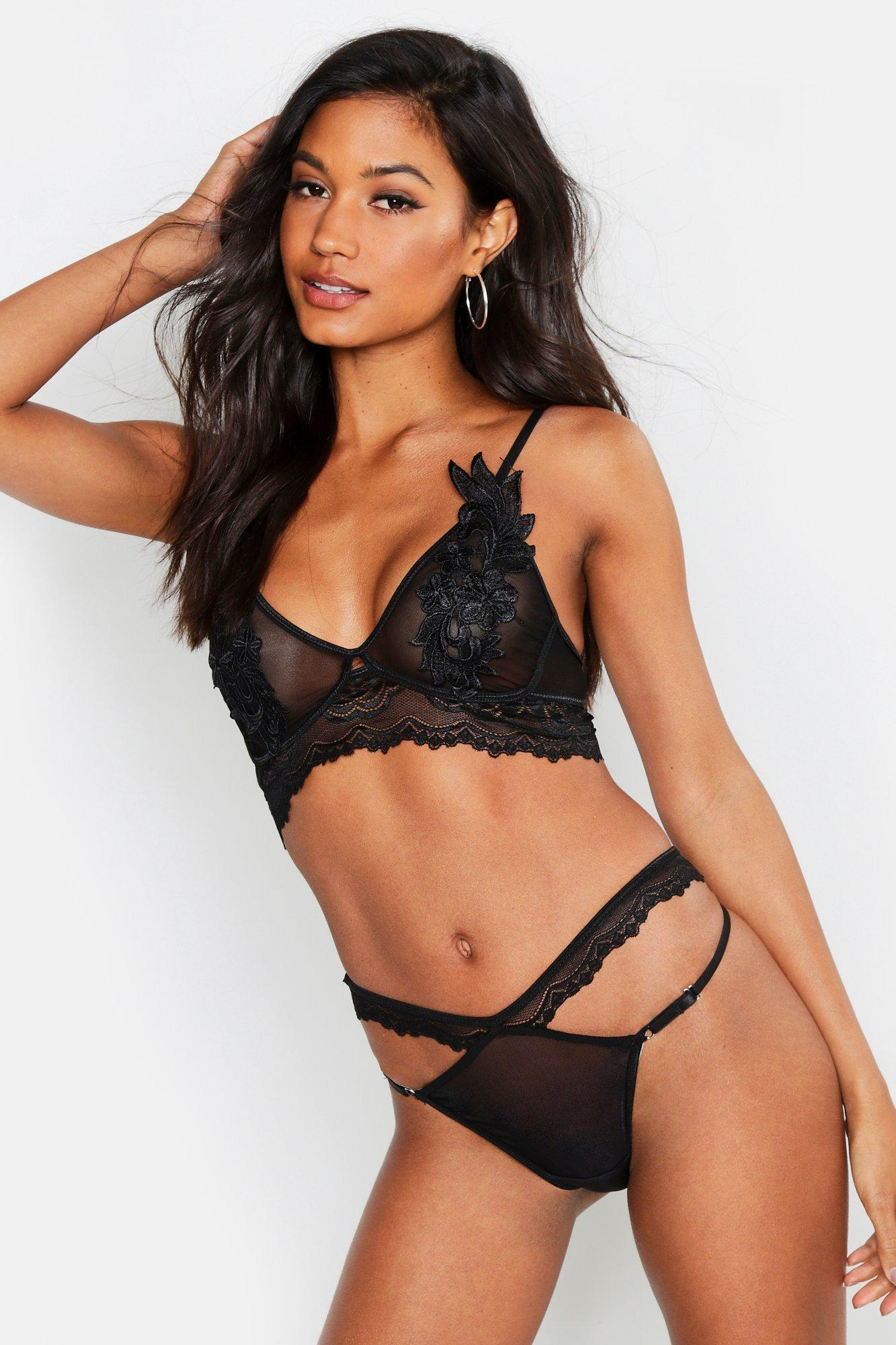 Applique & Mesh Strapping Set