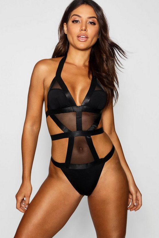 Extreme Strapping Cut Out Body