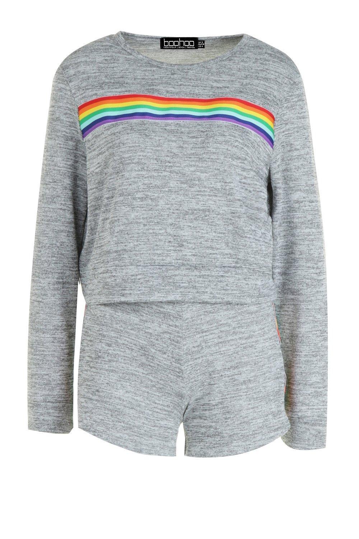 Conjunto arco descanso gris de de shorts 7rfI7qAP